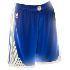2015 Christmas Day Golden State Warriors Blue Shorts