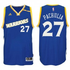 Golden State Warriors #27 Zaza Pachulia Alternate Jersey