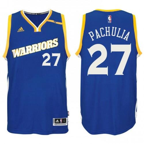 Golden State Warriors #27 Zaza Pachulia Alternate Jersey