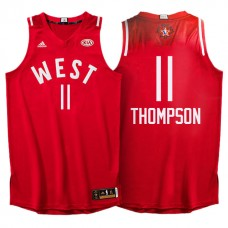All Star Jerseys #11 Klay Thompson Red All-Star Jersey