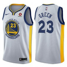 2017-18 Draymond Green Golden State Warriors #23 White Jersey