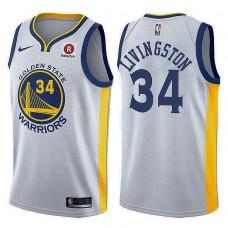 Golden State Warriors #34 Shaun Livingston Association Jersey