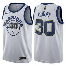 Golden State Warriors #30 Stephen Curry Hardwood Classics Jersey