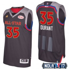 All Star Jerseys #35 Kevin Durant Charcoal All-Star Jersey