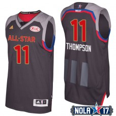 2017 All-Star Klay Thompson #11 Golden State Warriors Charcoal Western Conference Jersey