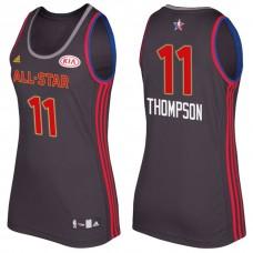 Women's All Star Jerseys #11 Klay Thompson Charcoal All-Star Jersey