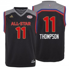 Youth 2017 All-Star Klay Thompson #11 Golden State Warriors Charcoal Western Conference Jersey