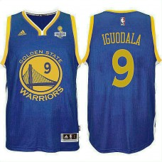 Andre Iguodala Golden State Warriors 2017 Champions Patch Jersey Royal