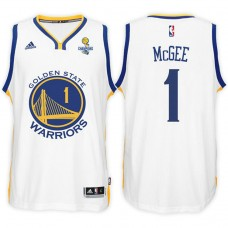 Golden State Warriors #1 JaVale McGee Champions Jersey