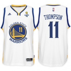 Klay Thompson Golden State Warriors 2017 Champions Patch Jersey White