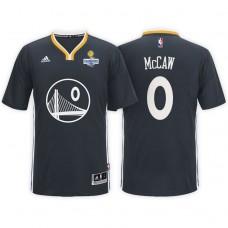 Golden State Warriors #0 Patrick McCaw Black Champions Jersey