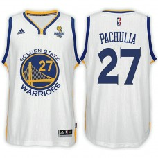 Golden State Warriors #27 Zaza Pachulia Champions Jersey