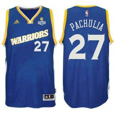 Zaza Pachulia Golden State Warriors 2017 Champions Patch Jersey Crossover