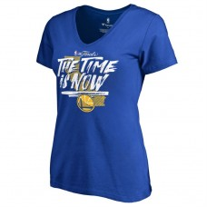 Women's 2017 Finals Golden State Warriors Bound Royal T-Shirt
