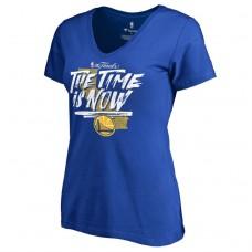 Women's 2017 Finals Golden State Warriors Bound Royal T-Shirt