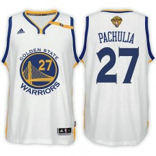 Golden State Warriors #27 Zaza Pachulia Home Jersey