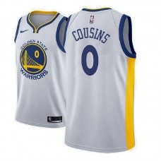 Golden State Warriors #0 DeMarcus Cousins Association Jersey