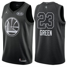 Golden State Warriors #23 Draymond Green Black 2018 All-Star Jersey