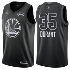Golden State Warriors #35 Kevin Durant 2018 All-Star Jersey