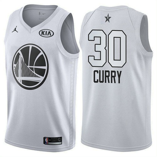 Golden State Warriors #30 Stephen Curry 2018 All-Star Jersey