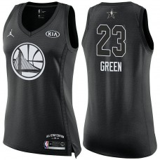 Women's All Star Jerseys #23 Draymond Green Black 2018 All-Star Jersey