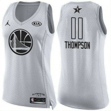Women's All Star Jerseys #11 Klay Thompson White 2018 All-Star Jersey