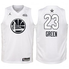 Youth All Star Jerseys #23 Draymond Green White 2018 All-Star Jersey