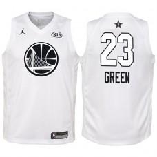 Youth All Star Jerseys #23 Draymond Green White 2018 All-Star Jersey