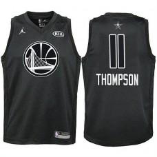 Youth All Star Jerseys #11 Klay Thompson Black 2018 All-Star Jersey