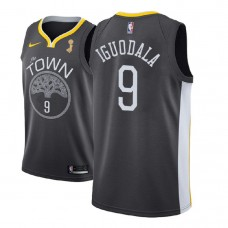 Golden State Warriors #9 Andre Iguodala Gray Champions Jersey