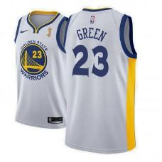 Golden State Warriors #23 Draymond Green White Champions Jersey