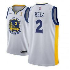 Golden State Warriors #2 Jordan Bell Champions Jersey