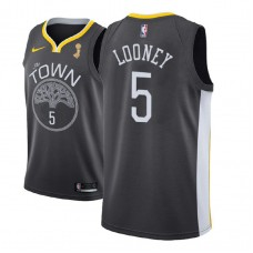 Golden State Warriors #5 Kevon Looney Champions Jersey