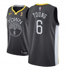 Golden State Warriors #6 Nick Young Champions Jersey