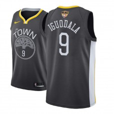2018 Finals Patch Andre Iguodala Golden State Warriors Gray Jersey