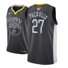 Golden State Warriors #27 Zaza Pachulia Statement Jersey