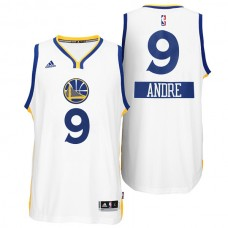 Andre Iguodala Golden State Warriors #9 Christmas Day X-mas Big Logo White Jersey