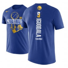 Golden State Warriors #9 Andre Iguodala Finals T-Shirt