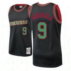 Golden State Warriors #9 Andre Iguodala Hardwood Classics Christmas Jersey
