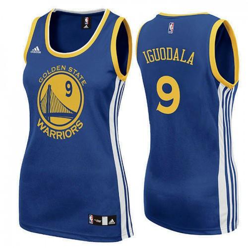 Women's Golden State Warriors #9 Andre Iguodala Road Jersey