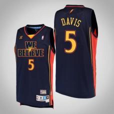 Baron Davis Golden State Warriors #5 We Believe Hardwood Classics Jersey
