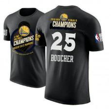 Chris Boucher Golden State Warriors 2018 Champions Trophy Black T-Shirt