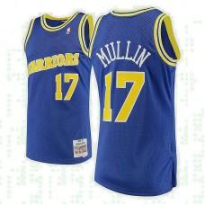 Golden State Warriors #17 Chris Mullin Hardwood Classics Jersey