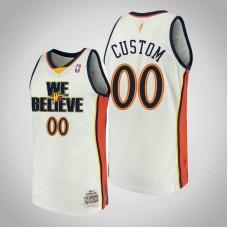 Golden State Warriors #00 Custom We Believe Jersey