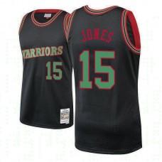 Damian Jones Golden State Warriors #15 Black 2018 Christmas Classics Jersey