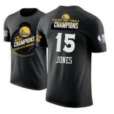 Golden State Warriors #15 Damian Jones 2018 Champions T-Shirt