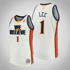 Damion Lee Golden State Warriors #1 We Believe Hardwood Classics Jersey