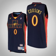 DeMarcus Cousins Golden State Warriors #0 We Believe Hardwood Classics Jersey