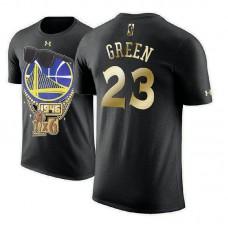 Golden State Warriors #23 Draymond Green 2018 Champions T-Shirt