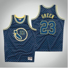 Golden State Warriors #23 Draymond Green Checkerboard Jersey